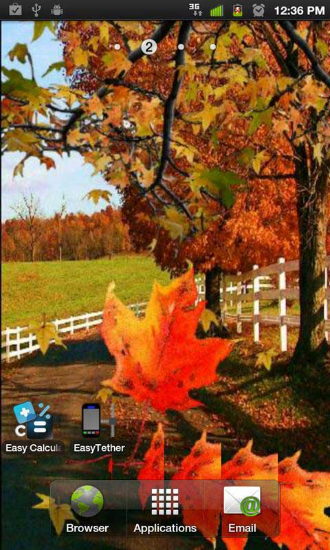 Autumn Leaves 2 Live Wallpaper