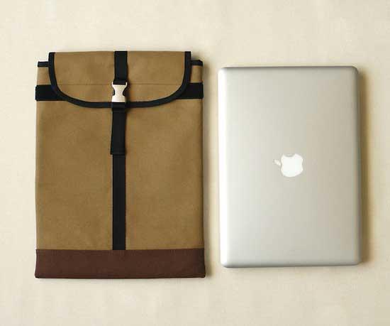 durable canvas sleeve