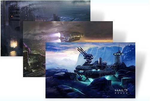 Halo Reach: Art inspiration theme