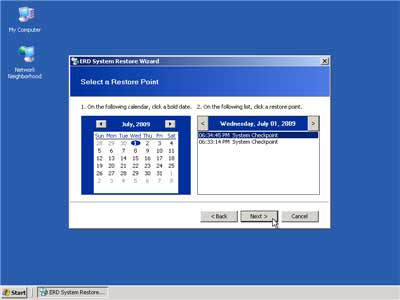 system restore how to
