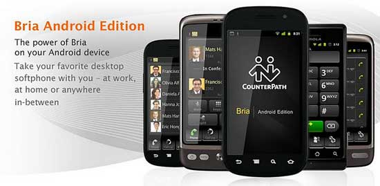 bria android voip