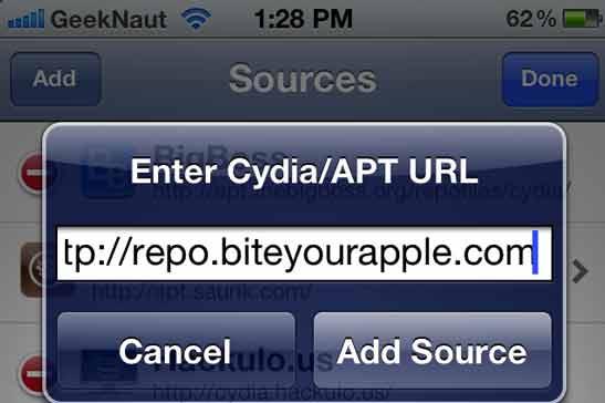 bite your apple cydia source