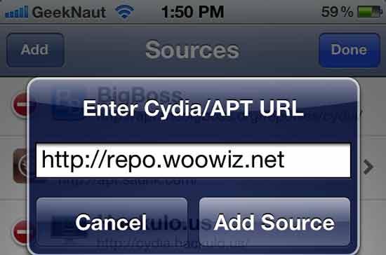 woowiz cydia source