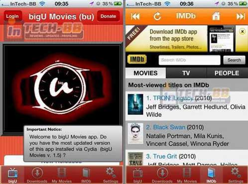 BigU Movies Cydia