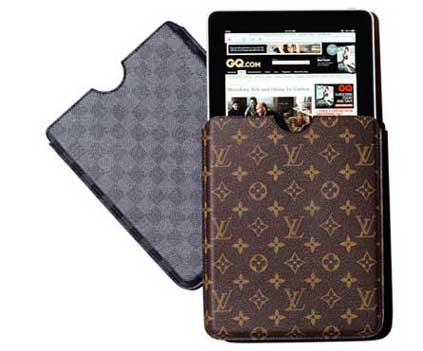 Expensive iPad Case by Louis Vuitton