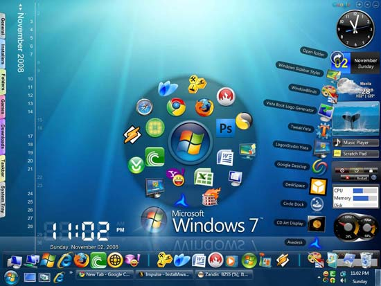 My Windows 7 Desktop