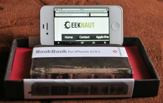 BookBook Leather Case for iPhone
