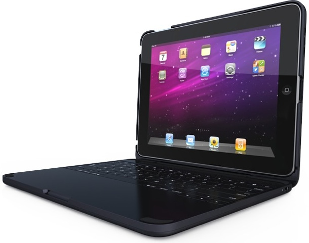 ClamCase with Room for Keyboard iPad Case