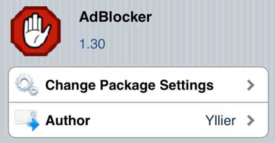 AdBlocker - Cydia App and Tweak