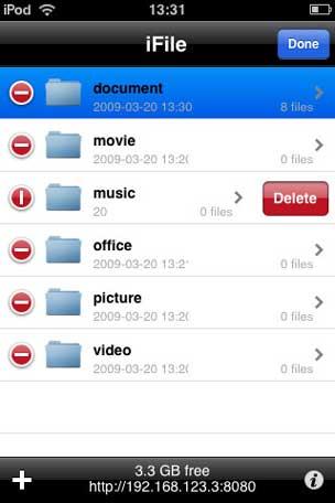 iFile Cydia App