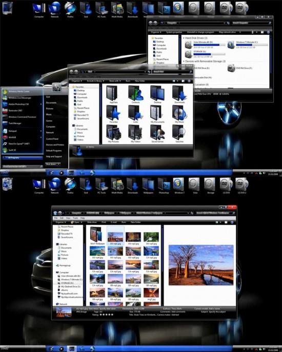 Neon 2C Windows 7 Themes