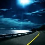 HTC Desire Wallpapers night road