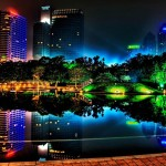 HTC Desire Wallpapers night neon