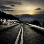 HTC Desire road Wallpapers