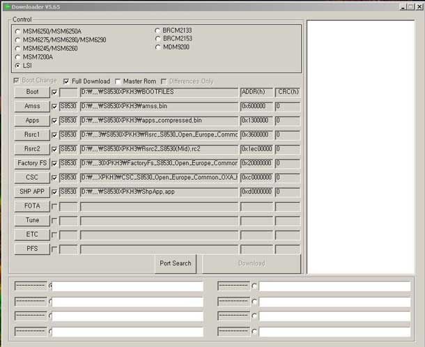 samsung multiuploader bada