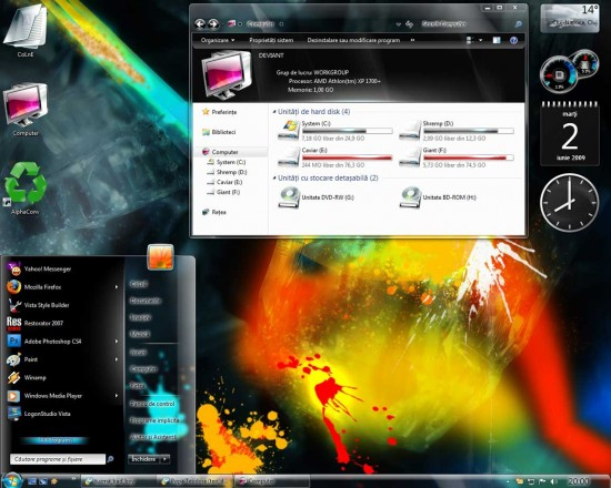sico theme Windows 7