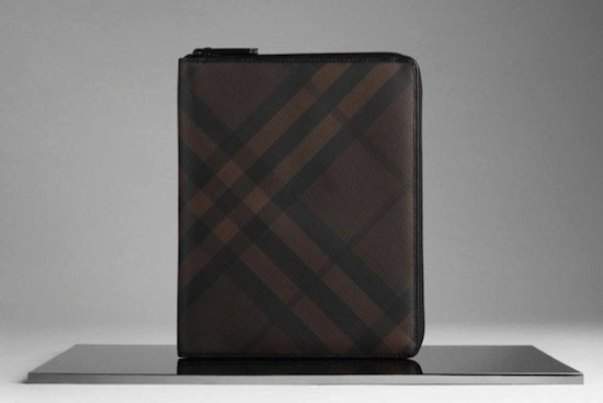 Buberry Smoked Check iPad cover