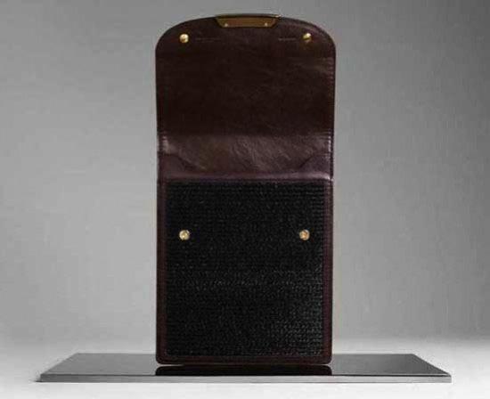 Burberry Stiched Rafia iPad Case