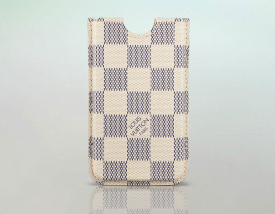 Damier Azur Canvas iPhone case