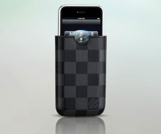 Damier Graphite Canvas iPhone case