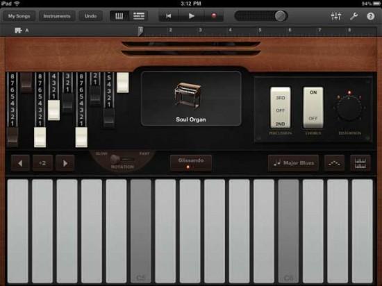 GarageBand iPad App