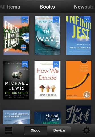 how to get books on kindle app for ipad 2
