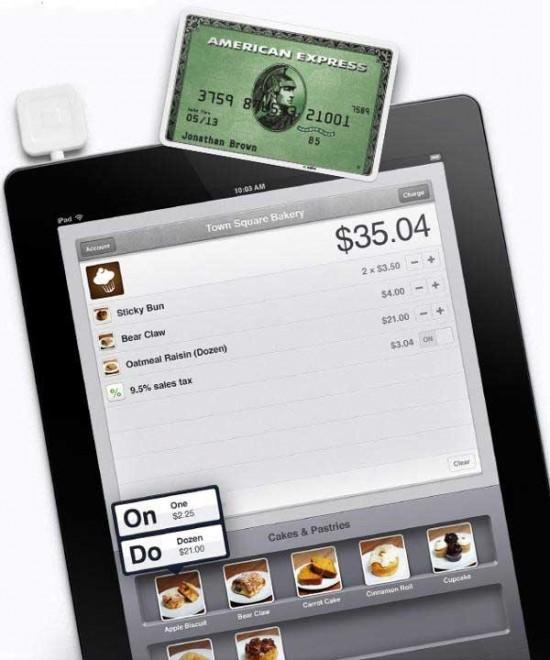 Square App for iPad