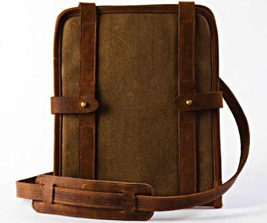 Temple Bags Leather iPad case