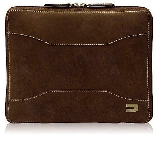 Urbano iPad Leather Zip Case  Vintage