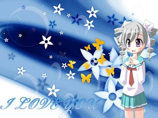 Wallpapers Girl anime