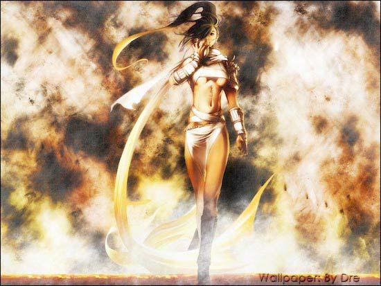 Anime woman