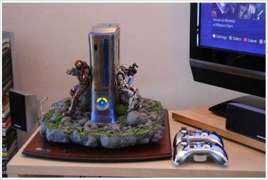 Custom Xbox 360 Console Halo 20 Halo Custom Xbox 360 Mod
