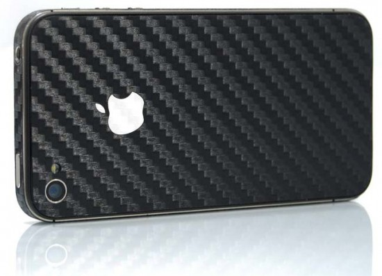 icarbon carbon fibre case for iphone 4 550x397 12 Best Carbon Fiber iPhone 4 Cases