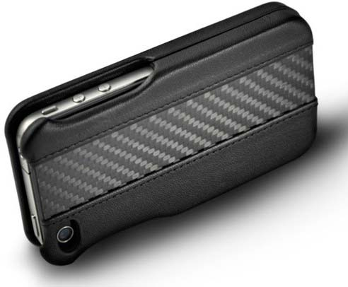 Ion Carbon Fiber Leather Shell