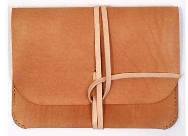 Kenton Sorenson Leather iPad case