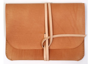 Kenton Sorenson Leather iPad case