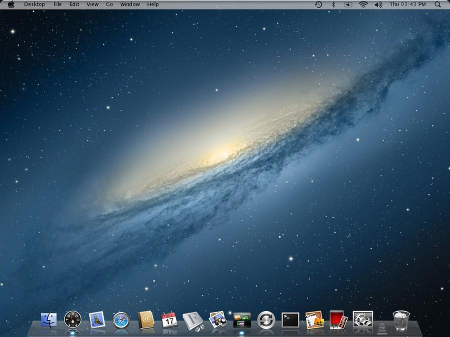 mountain lion theme for windows 7