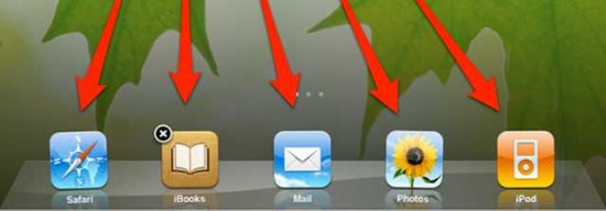 Add more Apps to your iPad dock