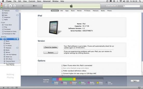 iPad Backup