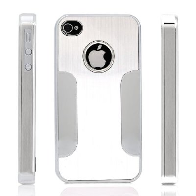 ATC Chrome Aluminum Skin Hard Back Case