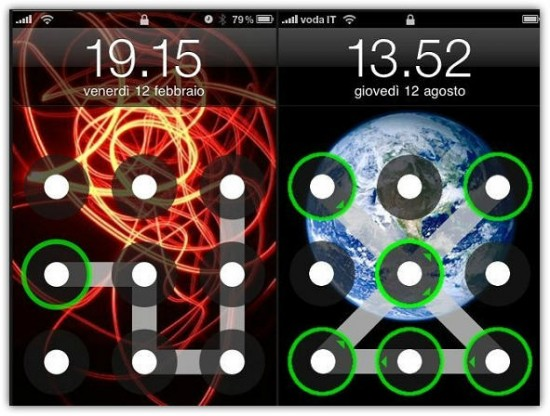 AndroidLock XT for iOS 5