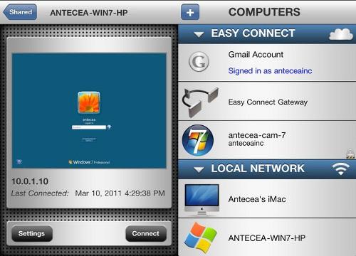 Desktop Connect By Antecea Inc.