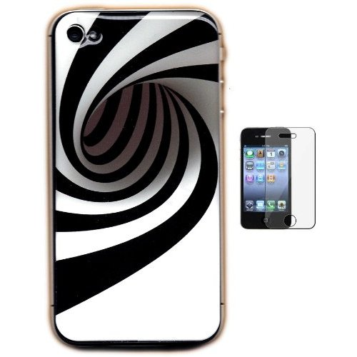 Gel-Skin Black Hole iPhone 4