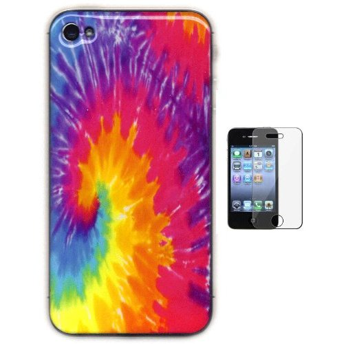 Gel-Skin Tye Dye iPhone 4