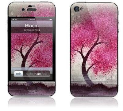 """GelaSkins Protective """"Bloom""""  iPhone 4 Skin"""