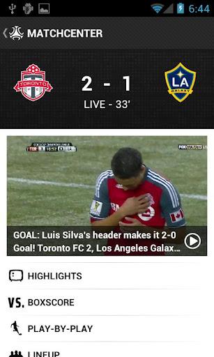 MLS Matchday 2012