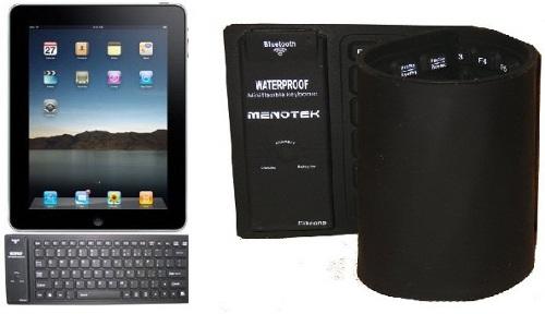 Menotek Flexible Bluetooth Waterproof Mini Keyboard