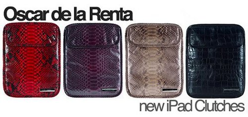 Oscar de la Renta Clutch for iPad 2