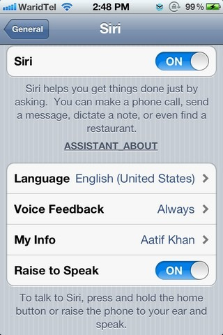 Spire: Siri for iOS 5