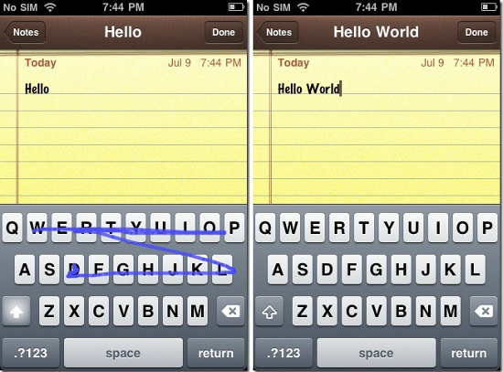 Swype for iOS 5